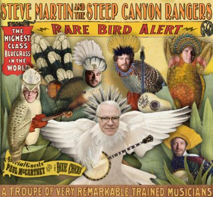 Steve Martin: A Rare Bird Takes Flight Into Deep Blue Grass
