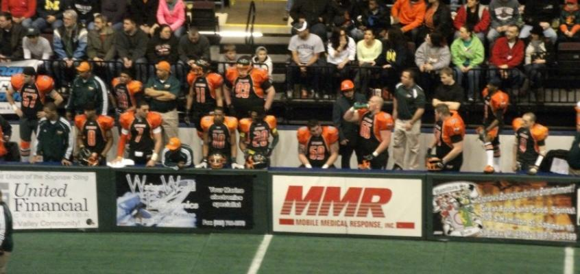 Saginaw Sting open the 2013 CIFL season at the Dow Event Center
