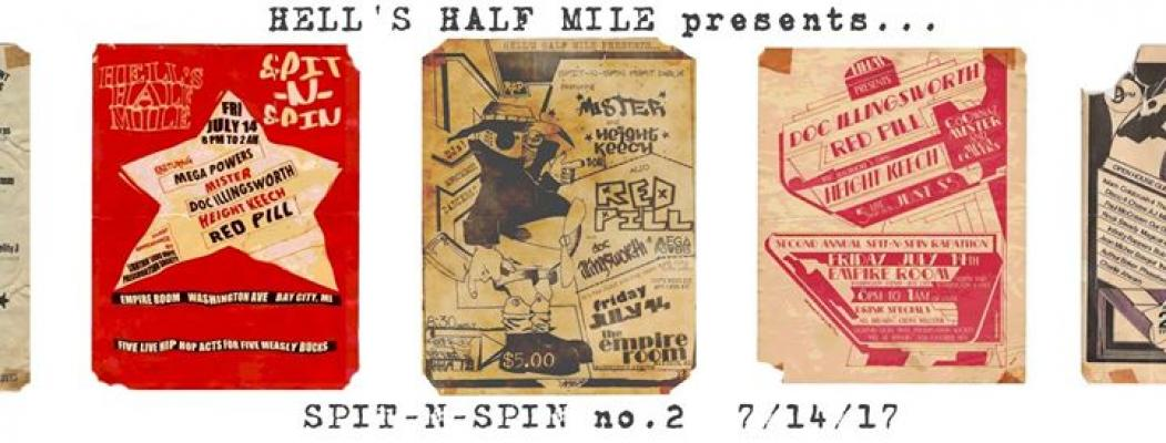 Hell's Half Mile:  Spit-N-Spin 2 at the Empire Room