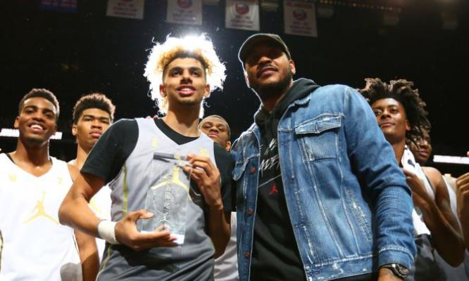 Saginaw's Brian 'Tugs' Bowen adds Jordan Brand MVP to his growing list of accomplishments