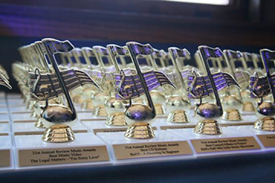 Winners of the 31st Annual Review Music Awards Celebration