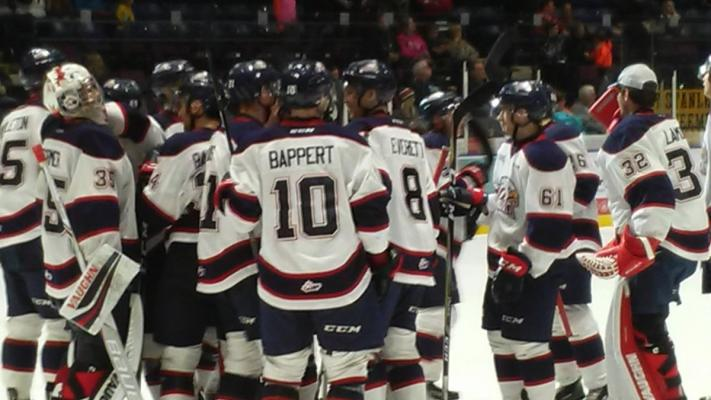 Spirit score four goals in third period to take I 75 Divide Cup Series opener with 5-3 victory over the Flint Firebirds