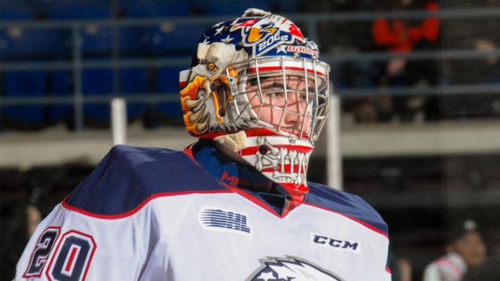 Spirit trade 2015 third round pick goalie Brendan Bonello to Kingston Frontenacs for 2019 sixth round draft pick