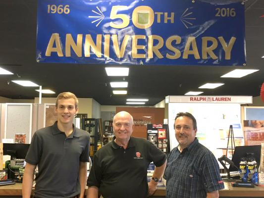 West Side Decorating Center Celebrates 50th Anniversary
