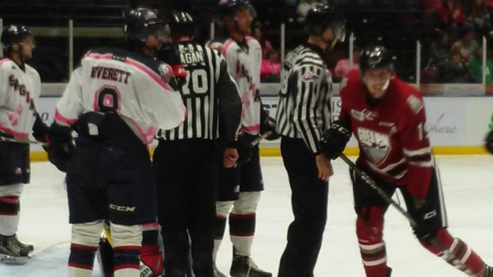 Spirit late goal from Giroux not enough to overcome deficit in 2-1 loss to the Guelph Storm